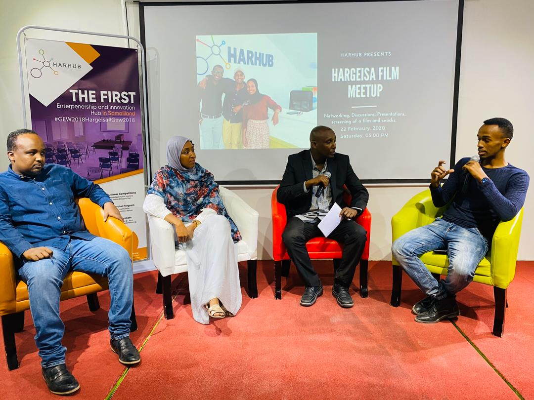 HarHub Hosted a Networking Film Meetup